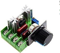 Funnyrunstore 2000W SCR Regulador de voltaje Atenuadores de atenuaci/ón Regulador de velocidad del motor Termostato M/ódulo regulador de voltaje electr/ónico