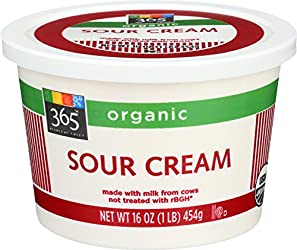 365 Everyday Value, Organic Sour Cream, 16 oz