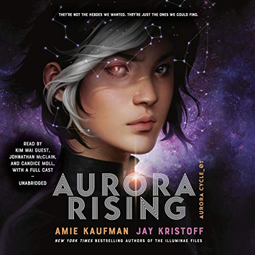 Aurora Rising audiobook cover art