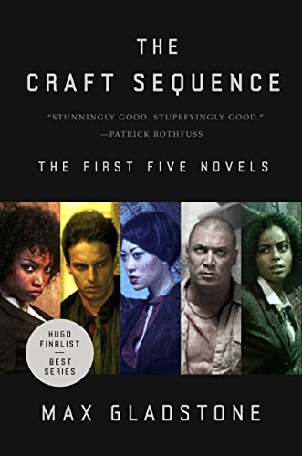 The Craft Sequence: (Three Parts Dead, Two Serpents Rise, Full Fathom Five, Last First Snow, Four Roads Cross) steampunk buy now online