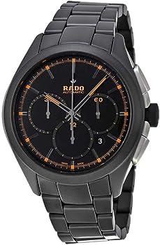 Rado Hyperchrome Chronograph Black Dial Ceramic Men's Automatic Watch
