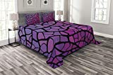 Ambesonne Abstract Bedspread, Graphic...