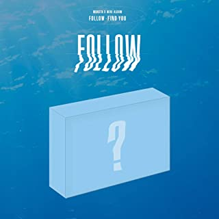Starship Entertainment [KIHNO Album] Monsta X - Follow - FIND You KIHNO KIT+Postcard+Title & Credit Card+7 Member Photocar...