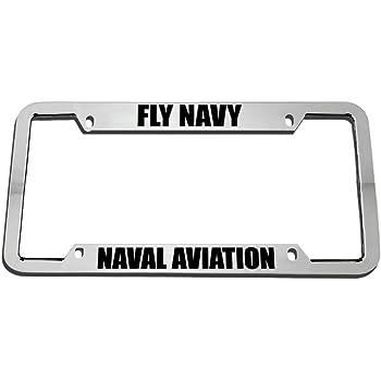 Fly Navy Naval Aviation License Plate Frame Mitchell Proffitt