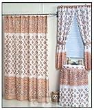 Ocean Sea Shells Shower and Window Curtain Set