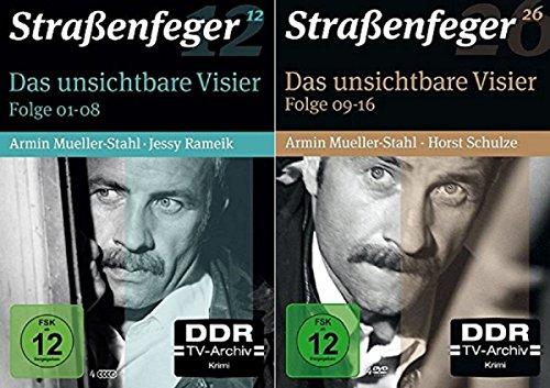 Straßenfeger 12+26 Das unsichtbare Visier 1+2, Folgen 1-16 [DVD Set]