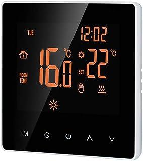 Termostato suelo radiante electrico digital calefaccion,termostato programable inteligente digital 16A termostatos digital...