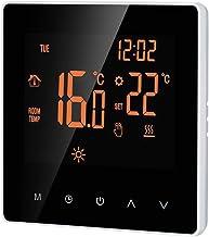 Baugger Termostato Inteligente - Termostato Inteligente Controlador Digital de Temperatura Pantalla Lcd Pantalla Táctil Se...