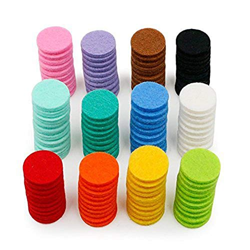 Goodplan Premium-Qualität 120 Pack ätherisches Öl Diffusor Medaillon Halskette Refill Pads/Aromatherapie Diffusor Halskette Ersatz-Pads/stark saugfähig für Aroma Diffusor Anhänger Halskette