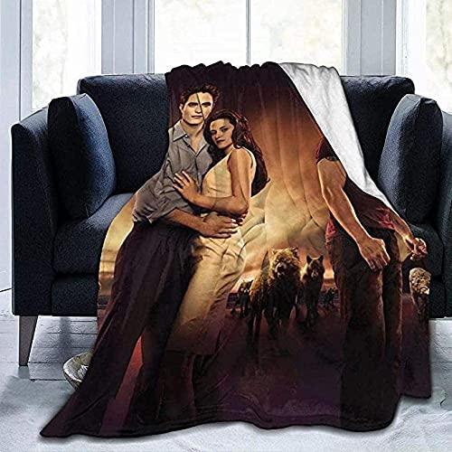 Manta de lujo para cochecito de bebé T-Wi-L-Ig-Ht Saga Mantas de comodidad y calidez, suave y acogedora manta para adultos y niños