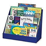 Classroom Keepers Book Shelf, 3-Tiered, Blue, 17'H x 20'W x 10'D