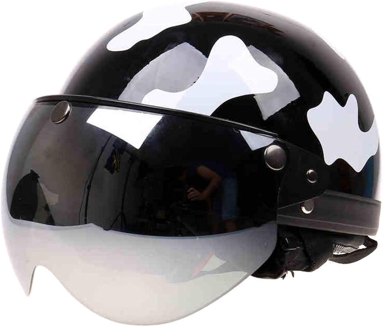Motorcycle Helmet Motorcycle Helmet, Collar Detachable Four Seasons Outdoor Riding Helmet Adult Unisex (color   C) Road Helmet