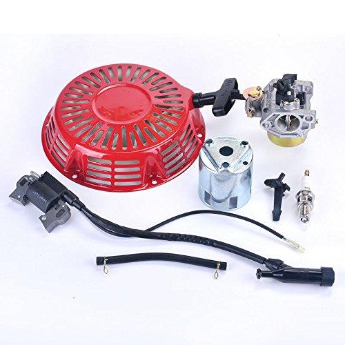 Ontstekingsspoel+Spark Plug+Carburateur Carb+Recoil Starter Fit Honda GX340 8HP GX 390 13HP grasmaaier generator motor