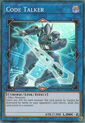 Yu-Gi-Oh! - Code Talker - FIGA-EN043 - Super Rare - 1st Edition - Fists of The Gadgets
