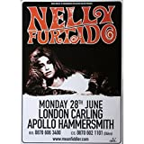 Nelly Furtado - Poster Apollo Hammersmith
