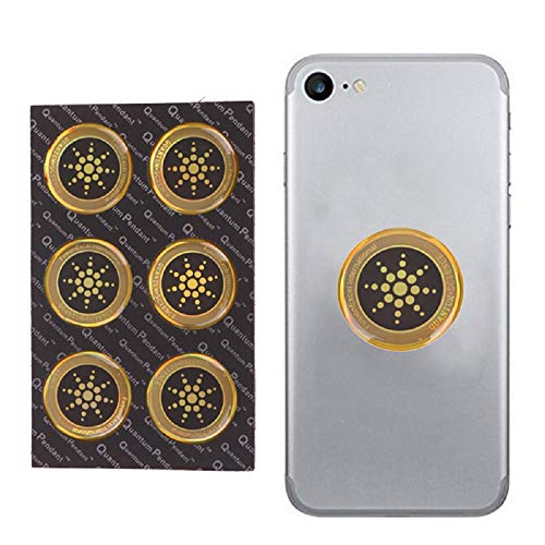 DIYEUWORLDL 6Pcs/Lot Shield Sticker Phone Sticker For Cell Phone Anti Radiation Protection from EMF Fusion Excel Anti-Radiation