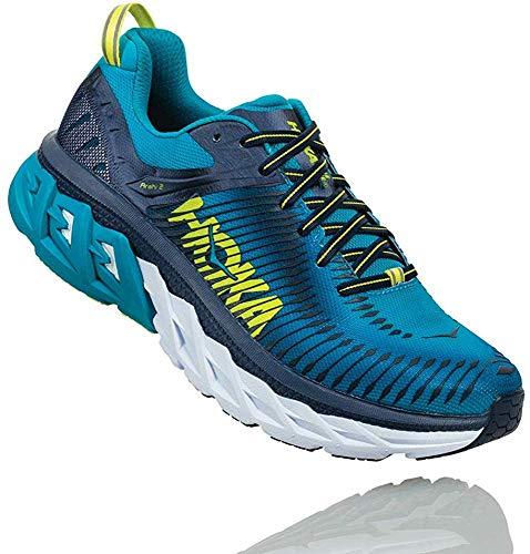 Hoka One One Arahi 2 Running Shoes Men Caribbean sea/Dress Blue Schuhgröße US 10 | EU 44 2018 Laufsport Schuhe thumbnail