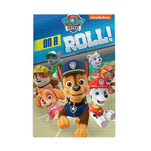 Rompecabezas de Patrulla Canina para adultos, 1000 piezas, 75 x 50 cm, 1000 piezas para juegos de adultos y niños
