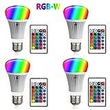 FFTONG RGB LED Glühbirne