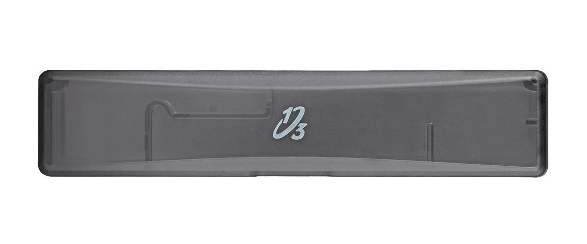 テンション印象的好意的歯ブラシ携帯ケース ワンサード ヘッド交換式歯ブラシ専用 ブラック