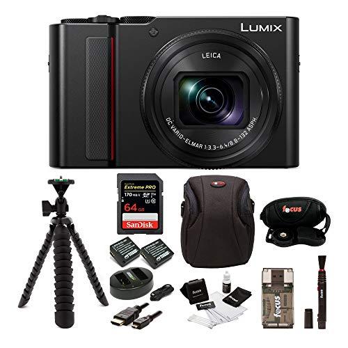 PANASONIC LUMIX ZS200 4K Camera 15X Leica DC...