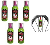 MV-TEK 5 x FAST CO2 (GONFIA E RIPARA) 100 ML ideale per bici Bicicletta MTB Mountain Bike/Strada - Corsa