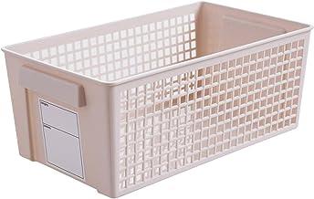 CML Drawer Storage Basket Container Box Plastic Kitchen Bathroom Cabinet Organizer With Label Desktop Snacks Sundries Toys...