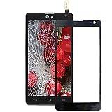 YINGJUN-Mobile Phone Accessories Praktische, praktische Ersatzteile für Mobiltelefone Touchscreen Digitizer Ersatzteil Kompatibel mit LG Optimus L9 II / D605 (Farbe : Schwarz)