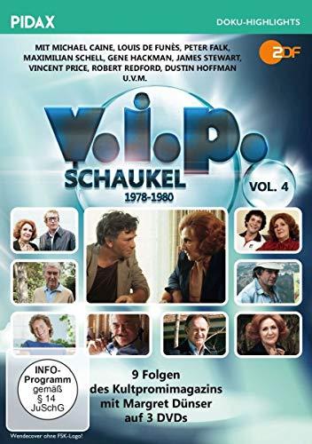 V.I.P.-Schaukel, Vol. 4 (1978 - 1980) / Die letzten 9 Folgen des Kultpromimagazins mit Margret Dünser (Pidax Doku-Highlights) [3 DVDs]
