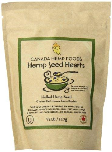 Canada Hemp Foods Natural Hemp Seeds, 227 Grams