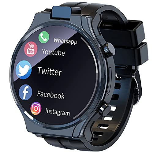 ZYDZ Android Smart Watch Phone 2,1 Pollici Full Circle Touch Screen Rotating 13MP Camera WiFi 4G Rete Frequenza Cardiaca Monitor Smart Orologio da Uomo