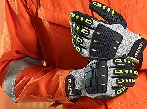 Portwest, schnittfester Handschuh aus Nitril, Größe: XXL, A722G8RXXL