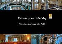 Beauty in Decay - Schoenheit im Verfall (Tischkalender 2022 DIN A5 quer): Schoenheit im Verfall (Monatskalender, 14 Seiten )