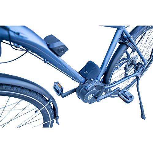 FISCHER Schutzhülle für E-Bike Akku-Kontake, Neopren, schwarz, Schutz vor Nässe, Staub und Schmutz, universelle Anbringung