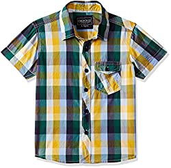 Cherokee by Unlimited Boys  Checkered Regular Fit Shirt