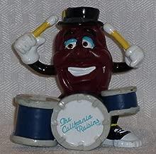 California Raisin Drummer 3 inch figure 1988