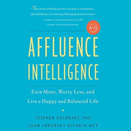 Affluence Intelligence audiobook cover art