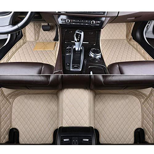 RVTYR For Volvo C30 S40 S60 S80 S60L S80L V40 V60 XC60 XC90 XC60 C70, Piso del Coche esteras de Accesorios de automóvil Car Styling (Color : Beige)