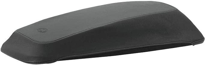 Mustang Saddlebag Lid Covers, Original, Black Compatible for 14-19 HARLEY FLHX2