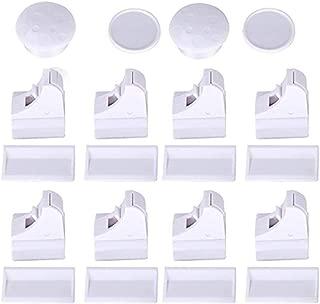 Premiumsicherheit im 6er Pack schnuboo Baby und Kindersicherung mit 2fach Verriegelung f/ür Schrank Schublade Haushalt und mehr