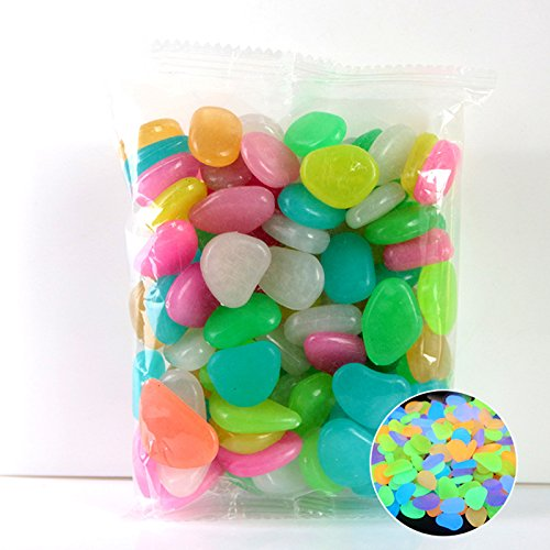 TIAS - Dekorative Steine in Verschiedene Farben, Größe 50pcs