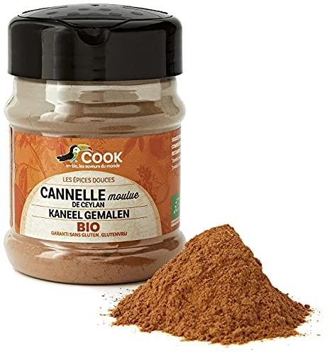 Cook Cannelle Poudre Pot Bio, 80 g