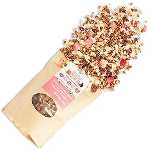 KZ Clean Eating Keto-Friendly Breakfast Cereal - Chocolate & Strawberry, 500 Grams