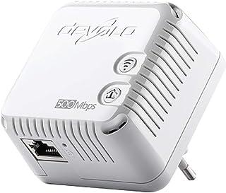 Devolo WLAN Kompakt   Starter Kit   Bridge   HomePlug AV (HPAV)   802.11bgn   2,4 GHz   an Wandsteckdose anschließbar
