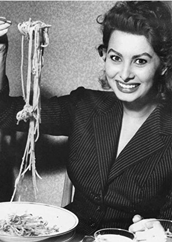 Mangiaspaghetti 10 Sofia Loren Poster 35x50 Stampe Papi Arte Vendita Online Quadri Cinema Film Italiano