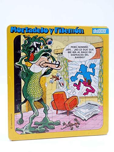 PUZZLE MORTADELO Y FILEMON. Mod 1: Disfraz De Monstruo. 30 Piezas. Didacta, Circa 1980