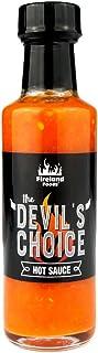 FIRELAND FOODS Devils Choice Hot-Sauce, Chilisauce mit Habanero Chili und Mango, 100ml