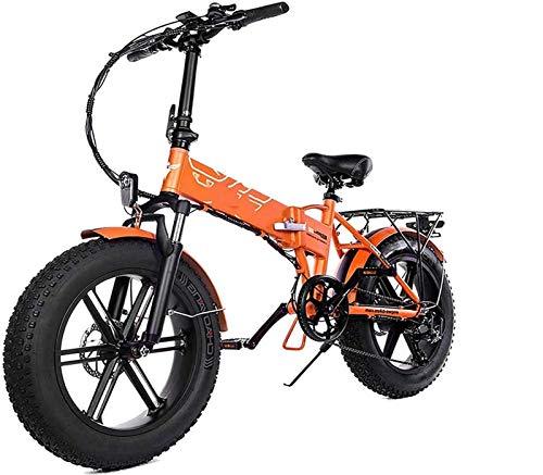 Bicicleta eléctrica Bicicleta eléctrica por la mon 500w plegable bicicleta eléctrica de...