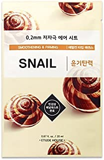 [Etude House] 0.2 Therapy Air Mask Snail 20ml * 10ea