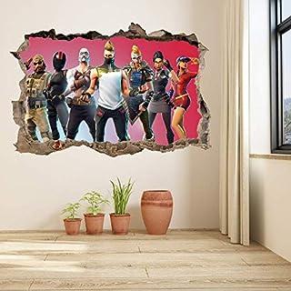 Fortnite Game member wall sticker living room wallpaper Fortnite Warrior winner wall sticker TV background wall sticker bo...